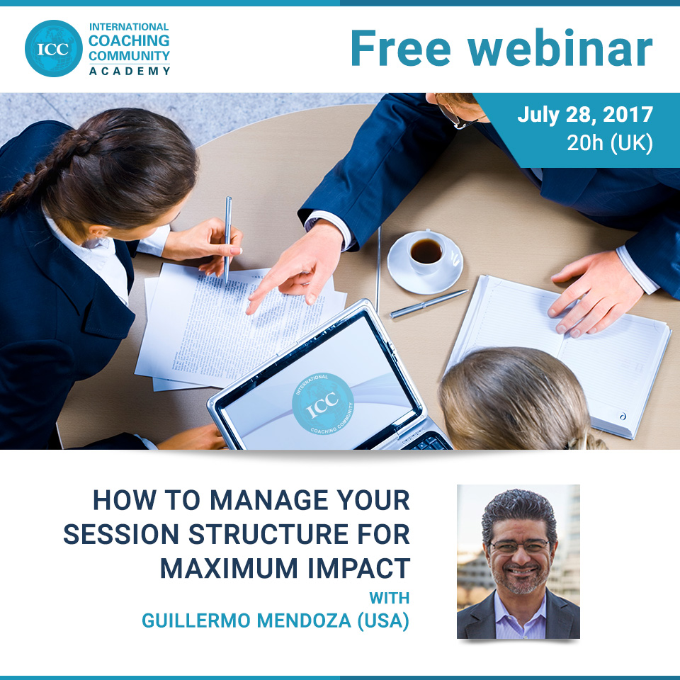 Free Webinar: How to manage your session structure for maximum impact