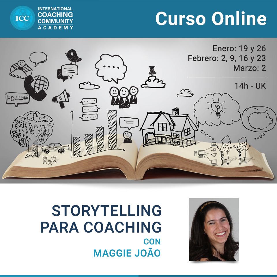 Curso Online: Storytelling para Coaching - ¡NUEVAS FECHAS!