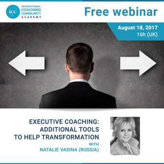 Webinário grátis: Executive Coaching – additional tools to help transformation – 18 de agosto