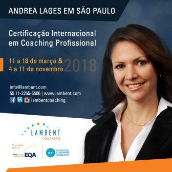 Certificação Internacional em Coaching Profissional em São Paulo – março e novembro 2018
