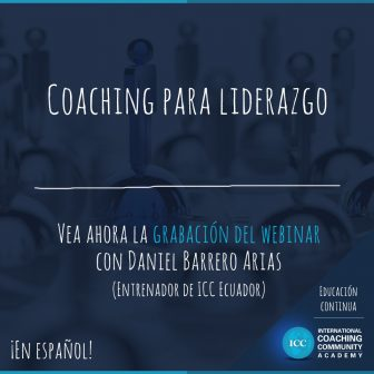 Webinar Recordings: Coaching para el Liderazgo