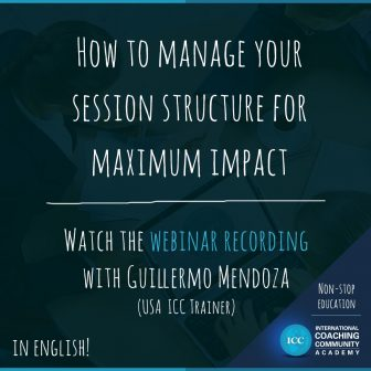 Grabaciones Webinar: How to Manage your Session Structure for Maximum Impact
