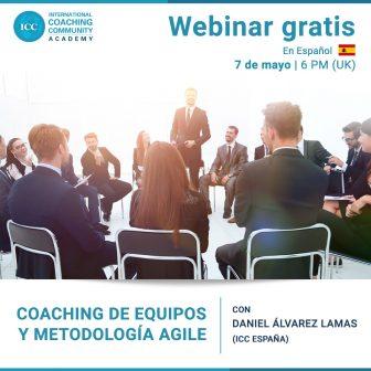 Webinar Grátis: Coaching de equipos y metodología Agile