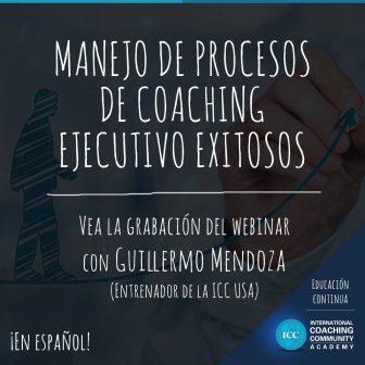 Gravações de Webinários: Manejo de Procesos de Coaching Ejecutivo Exitosos