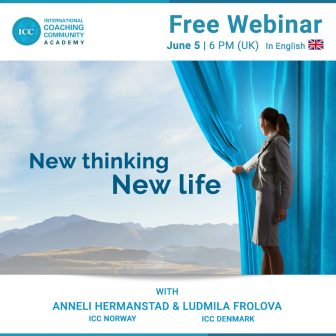 Webinar Gratis: Coaching – New thinking, new life
