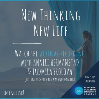 Webinar Recordings: New Thinking, New Life