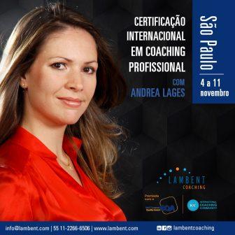Certificação Internacional em Coaching Profissional em São Paulo – 4 a 11 de novembro