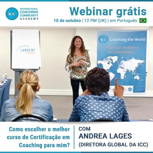 Webinar Gratis: Como escolher o melhor curso de certificação em Coaching para mim?