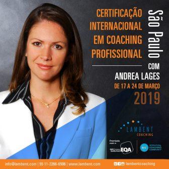 Certificação Internacional em Coaching Profissional em São Paulo – 17 a 24 de março
