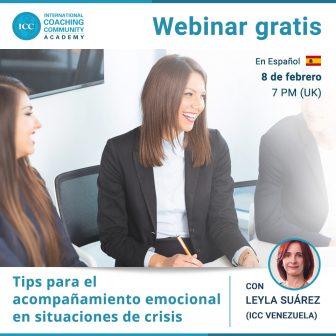Webinar Grátis: Tips para el acompañamiento emocional en situaciones de crisis