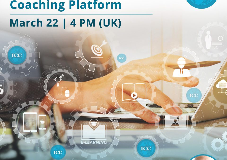 Webinar Grátis: ICC, your Global Coaching Platform