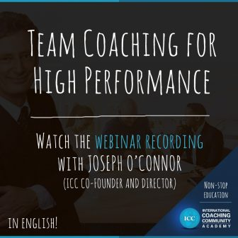 Gravações de Webinar: Team Coaching for High Performance