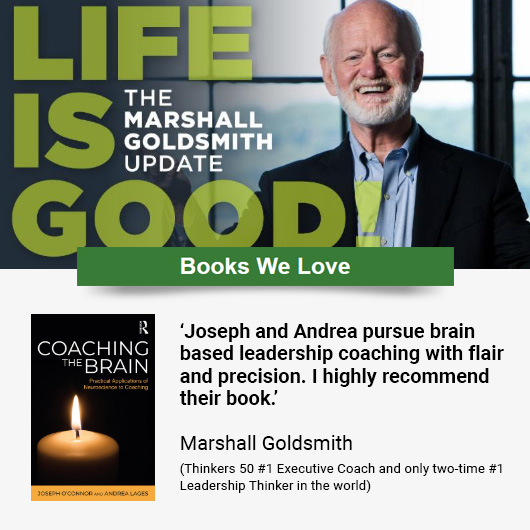 Coaching the Brain: escolha da semana na newsletter de Marshall Goldsmith