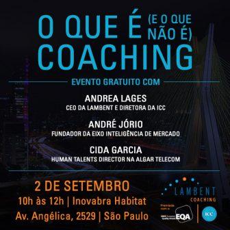 Coaching: o esclarecimento do que é (e o que não é)