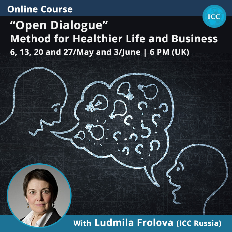 "Online Course: ""Open Dialogue"" Method for Healthier Life and Business"