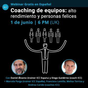 Webinar Gratis: Coaching de equipos – alto rendimiento y personas felices