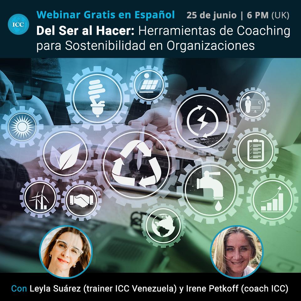 Webinar gratis - Del Ser al Hacer: Herramientas de Coaching para Sostenibilidad en Organizaciones