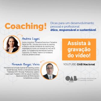 Andrea Lages em evento da OAB