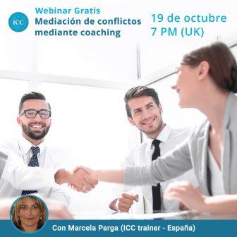 Webinar gratis: Mediación de conflictos mediante Coaching