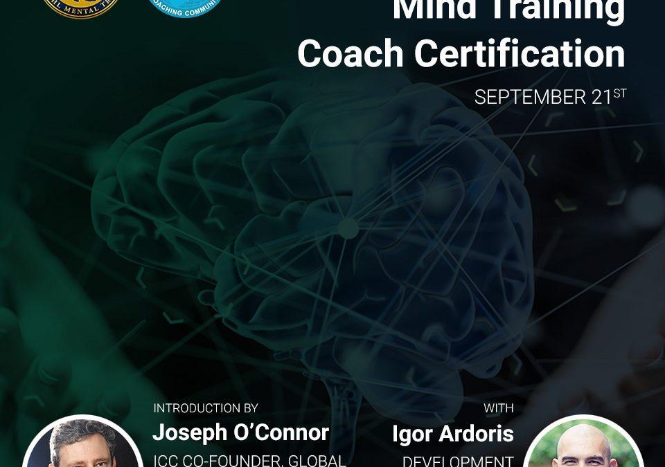 Webinar sobre la Mind Training Coach Certification