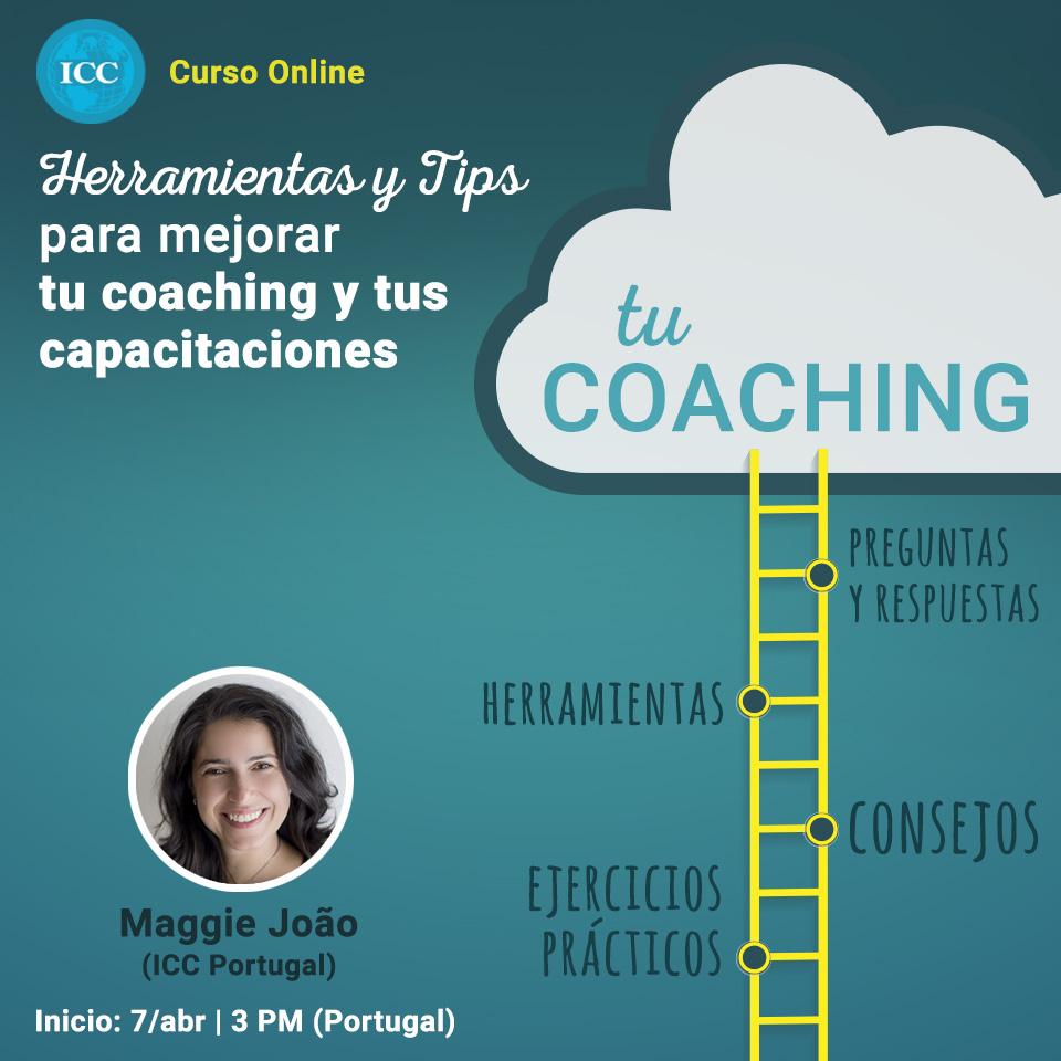 Curso Online: Herramientas y Tips para mejorar tu Coaching y tus capacitaciones
