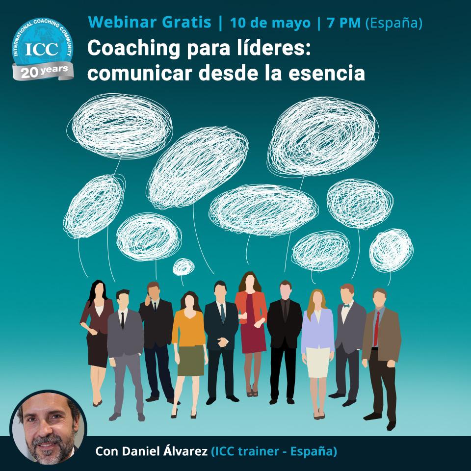 Webinar gratis - Coaching para líderes: comunicar desde la esencia