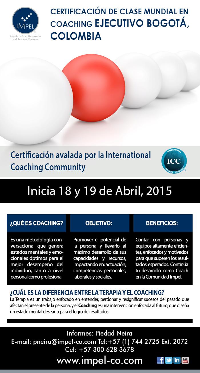 Certificación Internacional en Colombia